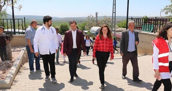 Ankara Yıldırım Beyazıt Üniversitesi Tıp Fakültesi Öğrencileri Pazarcık'ta