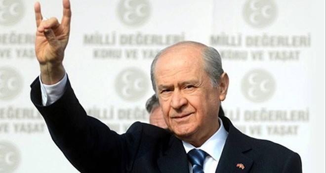 Bahçeli: 'Türklüğün bekası için 16 Nisan'da evet diyeceğiz'