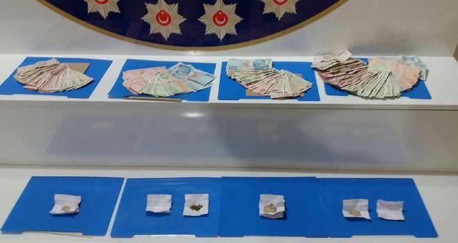Kahramanmaraş'ta uyuşturucu ticaretine 4 gözaltı