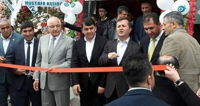 Başkan Bozdağ'a Gaziantep'te yoğun ilgi