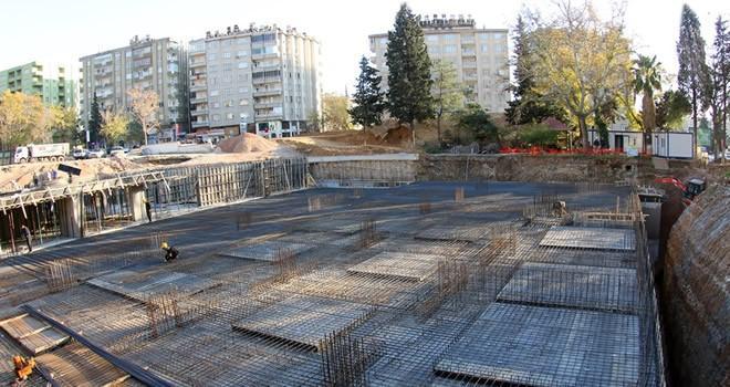 Milli İrade Meydanı Otoparkı'nda sona gelindi