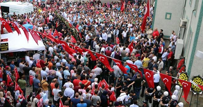 Trabzonlu şehit Eren için son görev