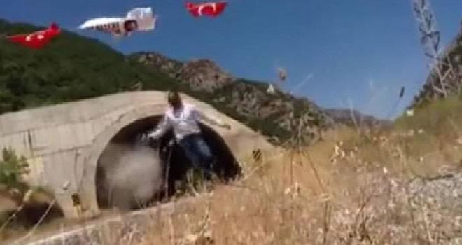 Kato Dağı'na bayrak asan Trabzonlu TIR şoförüne PKK'lı teröristler saldırdı