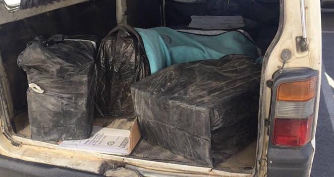 2 ayrı operasyonda 2 bin 980 paket kaçak sigara ele geçirildi