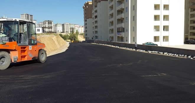 İlçenin asfalt ihtiyacının yüzde 90'ı tamamlandı