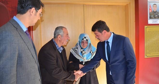Türkoğlu'nda 'Şehit Niyazi Ergüven Konferans Salonu' açıldı