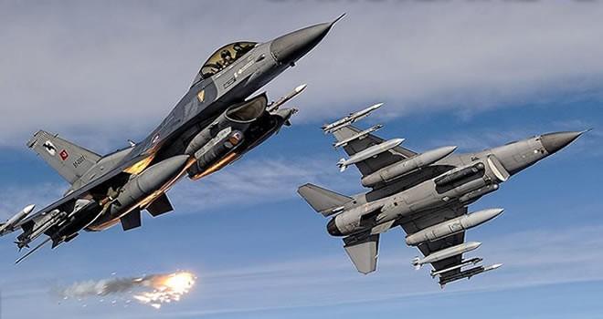 Saldırı hazırlığındaki PKK'lılara hava harekatı !