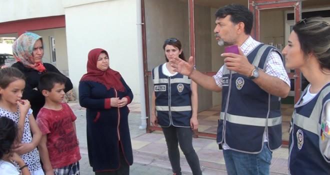 Kahramanmaraş'ta polis, vatandaşı hırsızlık konusunda uyardı