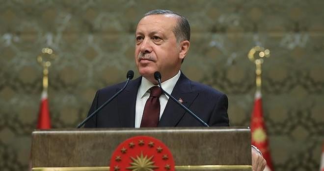 Cumhurbaşkanı Erdoğan: ''Birileri Atatürk'e Atatürk dedik diye senaryolar yazıyor''