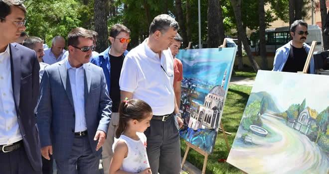 Türkoğlu Belediyesi 2. uluslararası sanat çalıştayını gerçekleştirdi