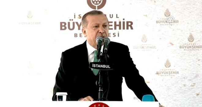 Erdoğan'dan Demir Kilise'de dünyaya mesaj!
