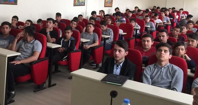 Büyükşehir'den öğrencilere iş güvenliği semineri