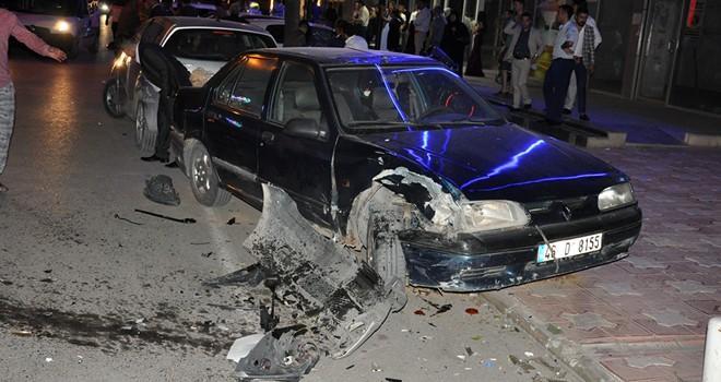 Kahramanmaraş'ta 22 yaşındaki alkollü sürücü dehşet saçtı!