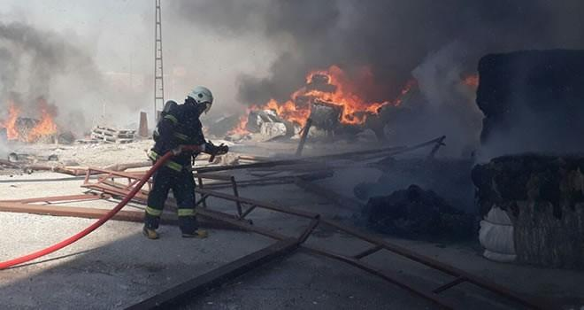 Son dakika haberi: Kahramanmaraş'ta bir fabrikada yangın çıktı