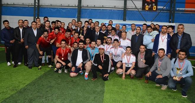 Onikişubat Belediyesi Futbol Bahar Turnuvası tamamlandı