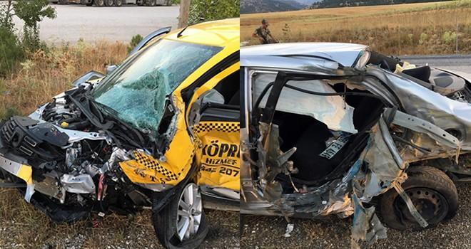 Kahramanmaraş'ta taksi şoförünün feci ölümü