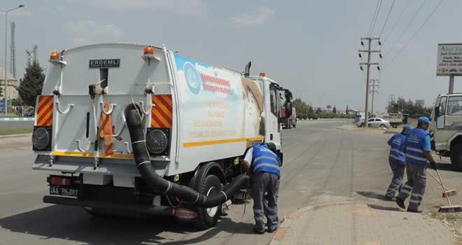Kahramanmaraş'ta 1 milyon 86 bin ton çöp toplandı
