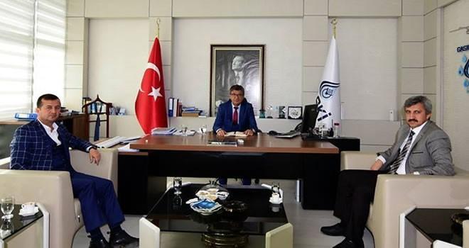 Başkan Bozdağ'dan GASKİ genel müdürü Sönmezler'e ziyaret