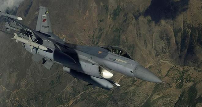 TSK Kuzey Irak'ta 8 hedefi yerle bir etti!