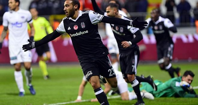 Beşiktaş Kasımpaşa maçında sevinemedi