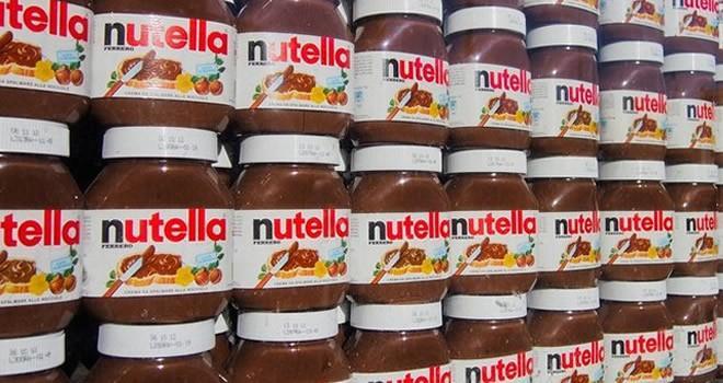 20 ton Nutella çaldılar!