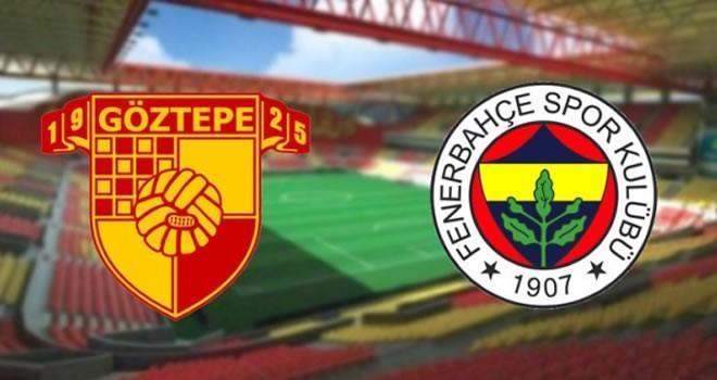 Göztepe-Fenerbahçe maçı berabere sona erdi