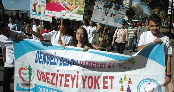 Kahramanmaraş'ta 'Sağlıklı bir yürüyüş' etkinliği