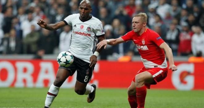 Beşiktaş, Monaco'yu elinden kaçırdı