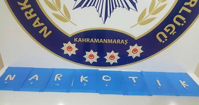 Kahramanmaraş'ta polis uyuşturucu tacirlerine göz açtırmıyor