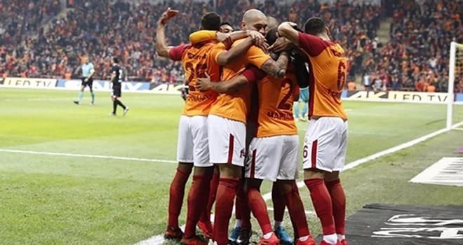 Galatasaray, Gençlerbirliği'ne gol olup yağdı