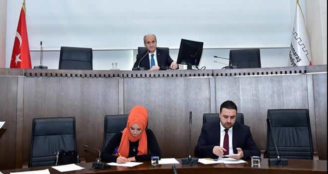 Dulkadiroğlu Belediyesi 2017 yılının ilk meclis toplantısını yaptı