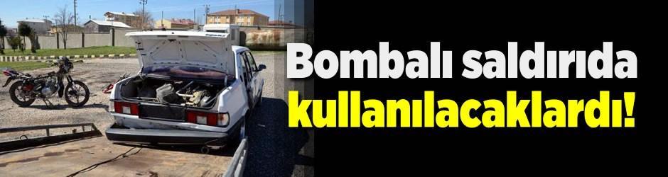 Diyarbakır'da ele geçirildi! Bombalı saldırıda kullanılacaklardı