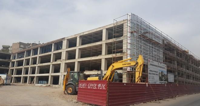 Kahjramanmaraş'ta ''Arasa Otopark'' çalışmaları hızla devam ediyor