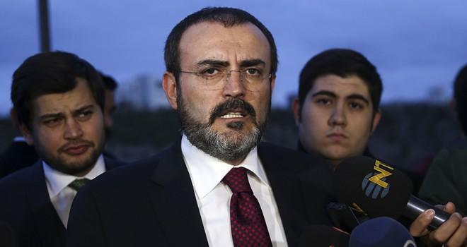 AK Parti Sözcüsü Ünal'dan çok sert açıklama: Kendi yalanında boğulacak