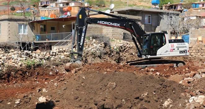 Pazarcık Belediyesi'nden taziye evi yapımı