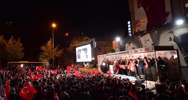 Kahramanmaraş'ta Dulkadiroğlu yüzde 82.4 ile yine birinci