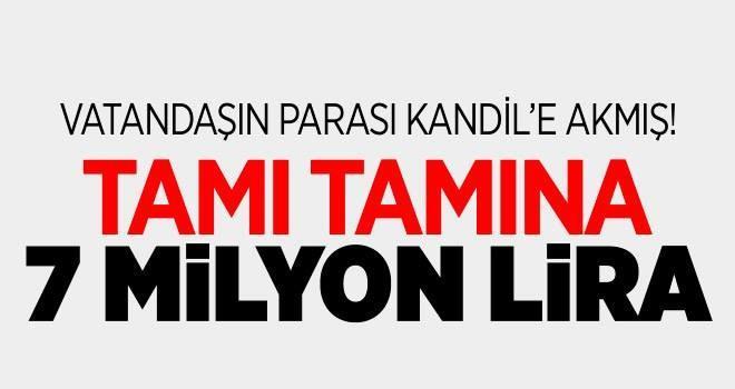 Diyarbakır Belediyesi'nden PKK'ya 7 milyon TL
