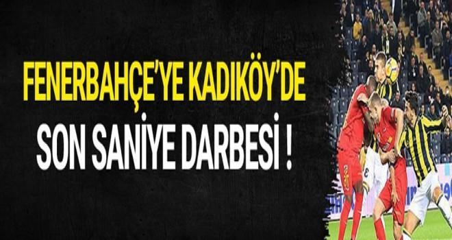 Fenerbahçe - Kayserispor maçında kazanan çıkmadı