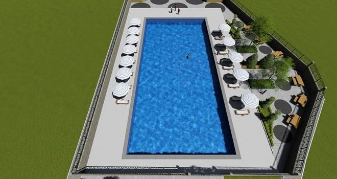 Dulkadiroğlu'ndan Yarı Olimpik Yüzme Havuzu