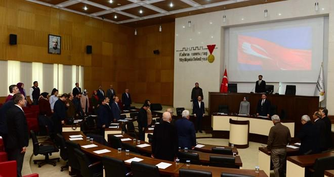 Dulkadiroğlu'nda yılın son meclis toplantısı