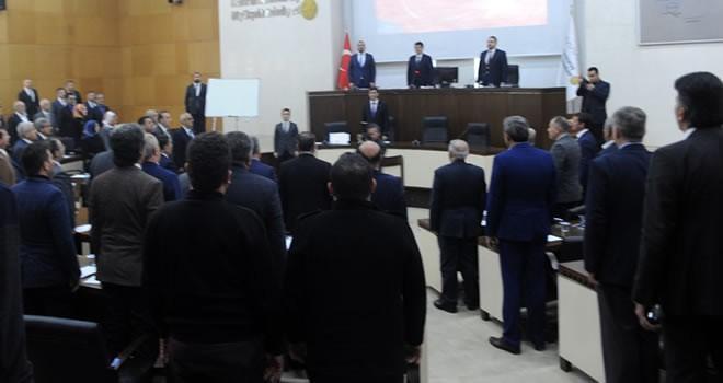 Büyükşehir Belediye Meclisi 9 Ocak'ta toplandı