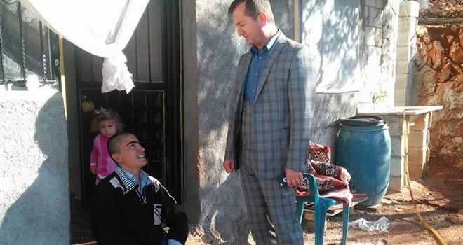 Başkan Bozdağ, Engelli Vatandaşın İsteğini Geri Çevirmedi