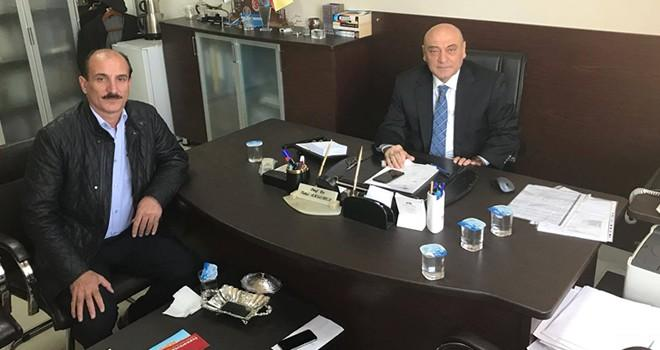 Kanal Maraş'tan Prof Dr. Akgemci'ye ziyaret