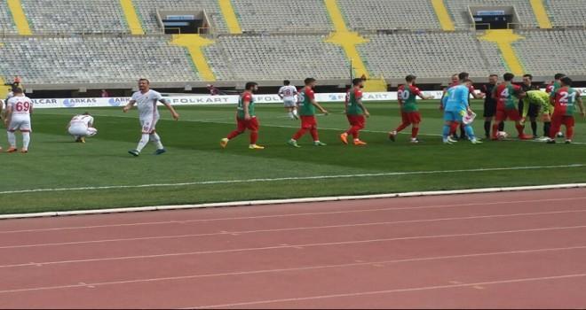 Karşıyaka-Kahramanmaraşspor maç sonucu: 0-2