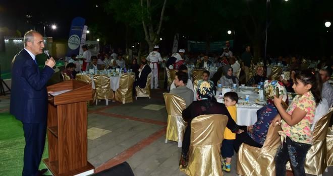 Başkan Okay, mahalle muhtarları ile iftar yaptı
