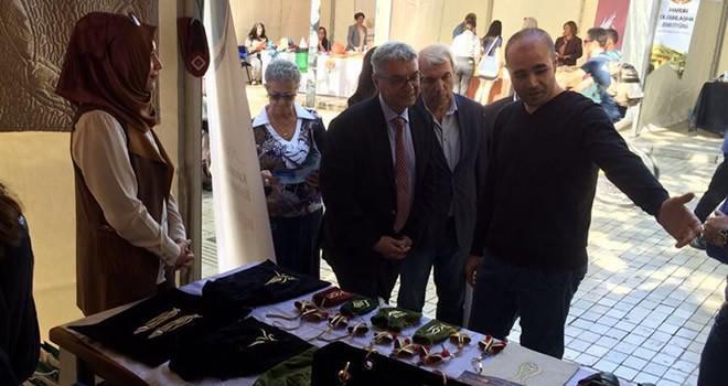 Arnavutluk'ka 'Kahramanmaraş Standı'na yağun ilgi