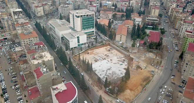 Milli İrade Meydanı'nın otopark katları tamamlandı