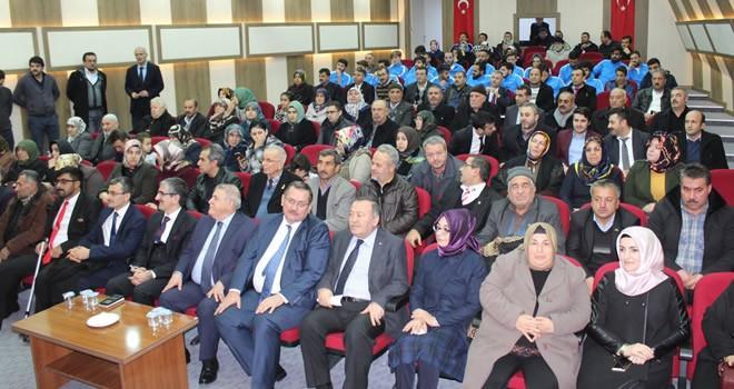 Büyükşehir Belediyesi, görme engelli hafızlarla şehitler için Mevlid programı gerçekleştirdi
