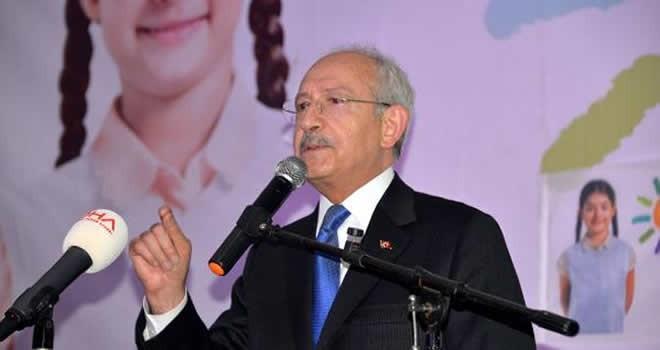 Kemal Kılıçdaroğlu Kahramanmaraş'ın Türkoğlu İlçesi'nde