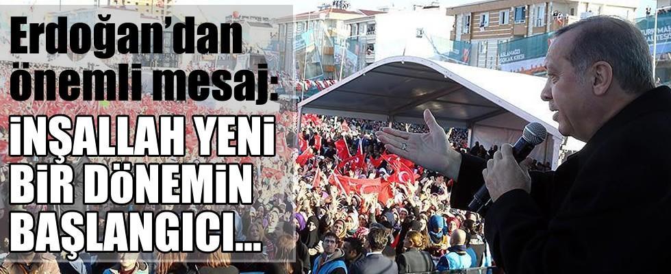 Cumhurbaşkanı Erdoğan'dan flaş yeni anayasa yorumu...